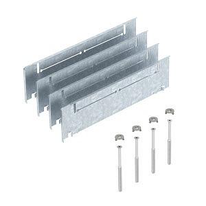 ASH250-3 B115170, Höhenausgleich-Bausatz für Estrichhöhe 115+55mm, St, FS