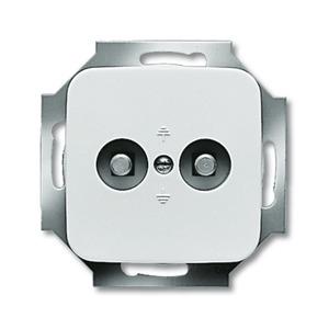 2095 UC-214, Unterputz-Potenzial-Ausgleichsstecker, alpinweiß, SI/Reflex SI, Abdeckungen für Datenkommunikation