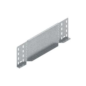 RA 110.050, Reduzier-/Abschlussstück für KR, 110x50 mm, Stahl, bandverzinkt DIN EN 10346, inkl. Zubehör