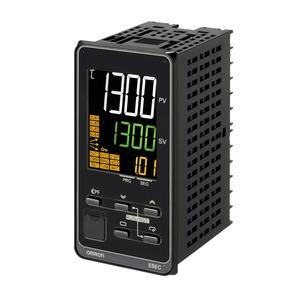 E5EC-TRX4D5M-000, Programmregler, 1/8 DIN (48 x 96), Regelausgang 1 Relais , 4 Zusatzausgänge Relais, Universal-Eingang, 24V AC/DC,