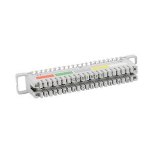NLSA2_10DAF.1, LSA-Anschlussleiste 2/10 zu 10 DA mit Farbcode