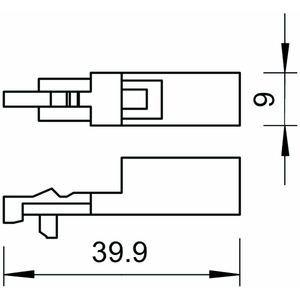 LSA-BF-180, Combischutzgerät für LSA-Plus 180V