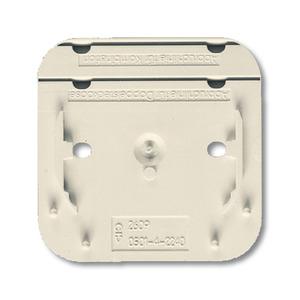 2609 AP, Montageplatte, weiß, Aufputz trocken, Busch-Duro 2000 AP