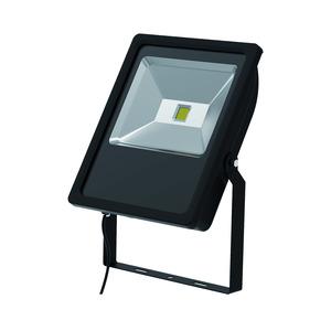 LED Floodlight Black 70W 6500K
