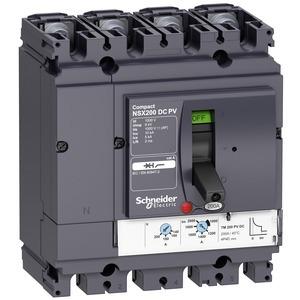 Leistungsschalter ComPact NSX200 DC PV , TM-D, 200A, 4P