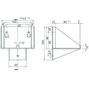 WANDKONSOLE W276, Wandkonsole für W276.3/4