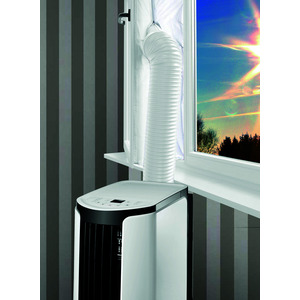 Hot Air Stop, Fensterabdichtung für mobile Klimageräte