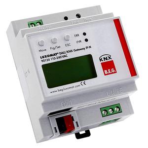 DALI/KNX-Gateway IP-N, Das Gateway verbindet den KNX-BUS mit dem für die Beleuchtungssteuerung konzipierten DALI-BUS