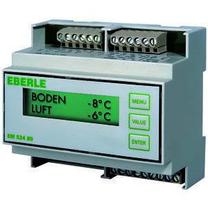 EM 524 89 DR, Eismelder für Dachrinnenbeheizung, AC 230V, Heizung 1S, 16 A, Alarm 1We, 2A