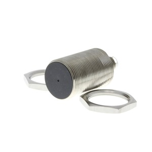 E2A-S30KS15-M1-B1, Näherungsschalter, induktiv, M30 Edelstahl, abgeschirmt, 15 mm, DC, 3-adrig, PNP / Schließer, M12 steckbar