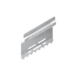LST 100, Stoßstellenverbinder mit Flachstecker, für Höhe 100 mm, Stahl, bandverzinkt DIN EN 10346