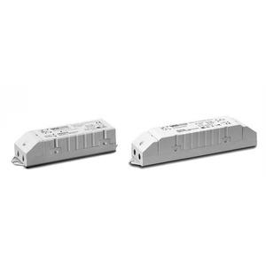 Elektronischer Konverter, 10-60W, weiß 230-240V, sek. 11,3-11,8V, 28x37x128mm