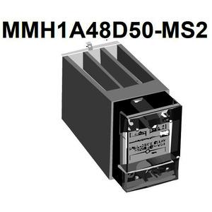 Halbleiterrelais 50A mit Kühlkörper; MMH148D50-MS2; 42...480VAC