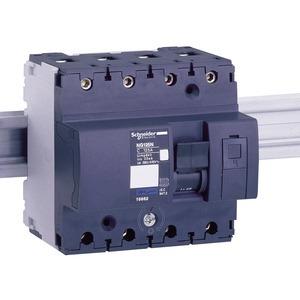 Leistungsschalter NG125L, 4P, 25A, D Charakteristik