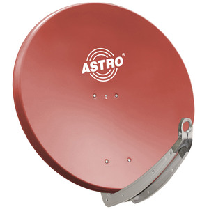 HSATS03, Alu-Spiegel rot 85cm, LNC Aufnahme 40mm