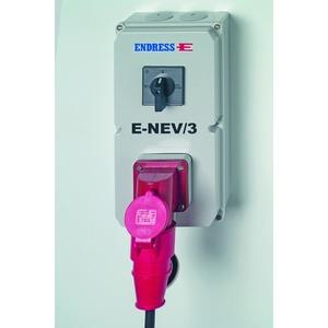 E-NEV/3-16 Einspeisungsverteiler, Zubehör Notstrom - Einspeisungsverteiler 400 V 16 A