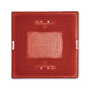 2664-12-101, Haube, rot, Unterputz wassergeschützt, Sondersteckvorrichtungen, Abdeckungen für Schalter/Taster
