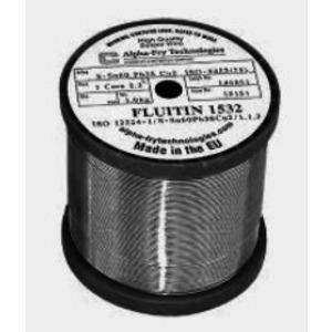 15151, Fluitin1532/122 Sn60Pb38Cu2 1mm  1000 g