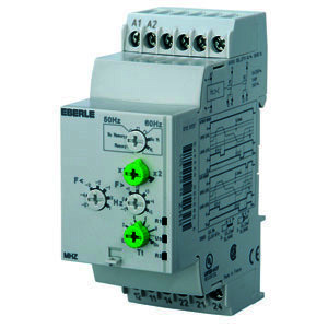 MHZ, Frequenzüberwachungsrelais AC 120...270 V, 5 A, 2 We Messbereich 40...70Hz
