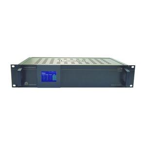 LCN - MRS, Multi-Raum-System: 8 Eing., 13 Ausg., davon 6 mit 2x80W Verst., Webradio