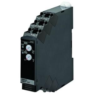 K8DT-LS1CD, Überwachungsrelais, 17.5mm, Niveauregler auf Leitfähigkeitsbasis, 10k bis 100k Ohm, 1 Wechsler, 24V AC/DC
