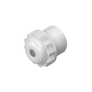 485/13, Dichtungsnippel, Pg 13.5, für Kabel-Ø 8-13 mm, Kunststoff PE, RAL 7035, lichtgrau