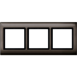 AQUADESIGN-Rahmen, 3fach, dunkelbrasil