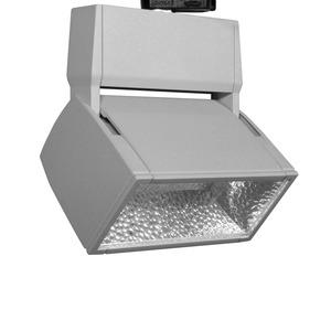 EL 304.30.2, EuroLED Stromschienenstrahler LED 50W 830 6280LM 75° weiß