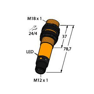 S18SP6LQ, Opto-Sensor, Reflexionslichtschranke