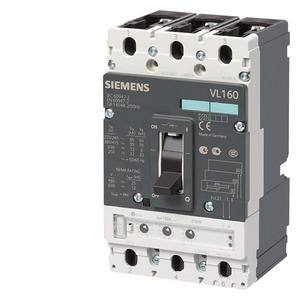 3VL2716-3DC36-0AA0, Leistungsschalter VL160L sehr hohes Schaltvermögen Icu=100kA, 415V AC 3-polig, Anlagenschutz Überstromauslöser TM, LI In=160A, Bemessungsstrom IR=125.