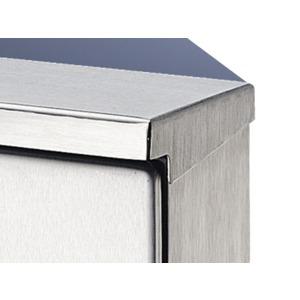 SZ 2361.000, Regendächer, für AE-Edelstahlausführung, für Schrank mit BT 300x210 mm