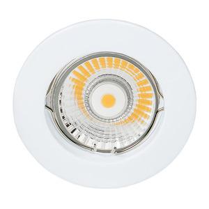ETG 1005 WEISS, NV-Einbaustrahler starr, G5.3, max 50 W weiß, 4311562400