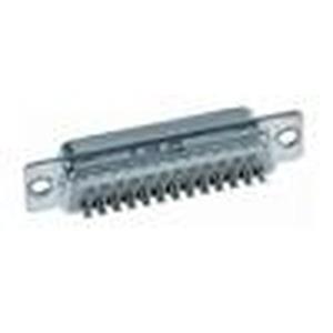 Steckverbinder, Lötkelchanschluss, Bemessungsstrom: 6,5A, Stift, Baugröße: D-Sub 2