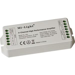 Verstärker 4-Kanal, 12V/24VDC, 4* 6A max. 288W, Kompatibel mit Casambi PWM4