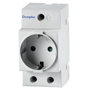 RDS 6 Einbausteckdose, Doepke Reiheneinbausteckdose 250 V AC, 16 A