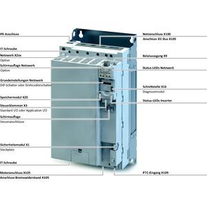 I55AE34SF1A010000S, Inverter i550-C45./400-3