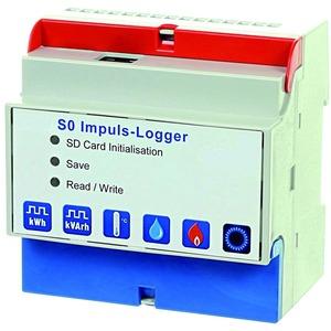 SO-Impuls-Logger mit Webserver, Anschluss bis 9 Zähler und 2 Temperatursensoren