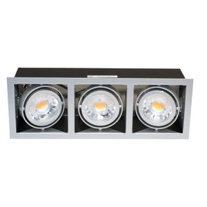 LED Mini Kardan E3 Set 7W titan-matt warmweiß 38°, LED Mini Kardan E3 Set 7W titan-matt warmweiß 38°