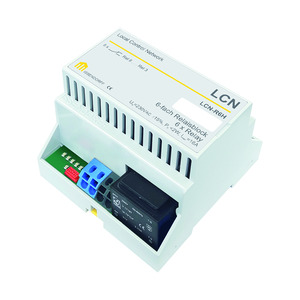 LCN - R6H, Relaismodul mit 6x 16A (Wechsler) inkl. Versorgung