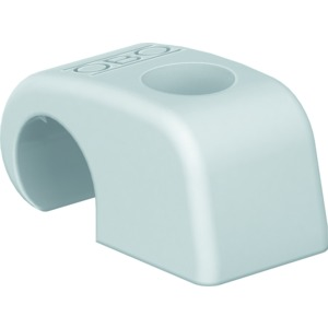 4040 SP, Haft-Clip, ohne Nagel Großverpackung 7-12mm, PP, lichtgrau, RAL 7035