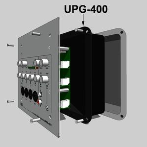 Unterputzgehäuse, für UPM-431A und PWM-101 B