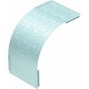 DBV 110 500 F FS, Deckel für Vertikalbogen 90° fallend B500mm, St, FS