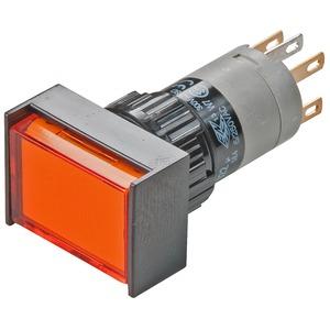 Leuchtdrucktaste, R, SP, 4Ö+4S, L, 18x24, Au/Ag