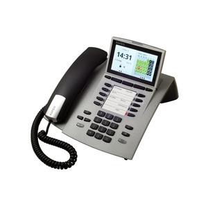 ST 45 silber, Systemtelefon für Anlagen mit S0- und UP0-Schnittstelle
