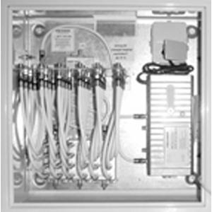 BK-Montageschrank kplt. mit Verstärker + 24-fach AZ
