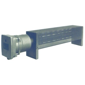 Ex-Raumheizgerät 500 W, temperaturgeregelt, mit Schutzkorb, T3