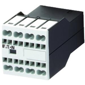 DILA-XHIC13, Hilfsschalterbaustein, 1 Schließer + 3 Öffner, Aufbau, Federzuganschluss