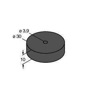 DS-R30, Zubehör, Distanzscheibe, BL ident®