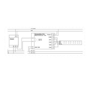 Steuergerät CHROMOFLEX PRO KNX LED-Sequenzaktor Eco CV