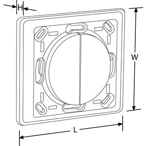AU-A1ZBPLTS, AOne™ ZigBee Kinetic für Schneider Schalterprogramme